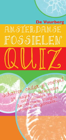 Cover 'Amsterdamse Fossielenquiz'